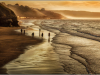 1st Place - Evening Over West Beach, Whitby - Trevor Bottomley