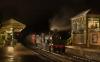 1st Evening train at Corfe Castle