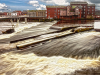 highly commended 16 points.383. Castleford weir. Jack Bunn