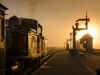 Commended Sunrise Portmadoc station By David Carr