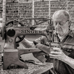 Prints-Commended-The-Cobbler-By-Sally-Sallett-