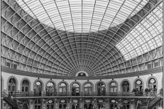 The Impressive Interior of Leeds Corn Exchange by Angela Crutchley-Rhodes
