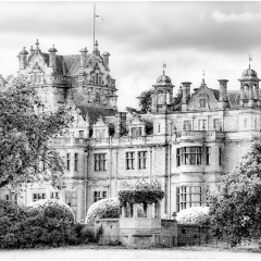 Commended Print - Thoresby Hall by David Kershaw