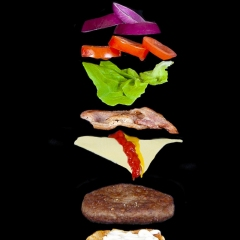 Highly Commended - Anatomy of a Big Mac by Harry Wentworth