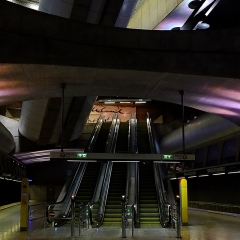 Down In The Tube Station At… by Neil Clarke