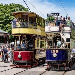 Summer Tram Trip - Trevor Jones