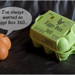 Highly Commended - Eggs Box 360 - Trevor Bottomley