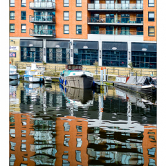 2nd Place - Clarence-Dock-Reflections-by-Neil-Clarke