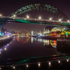 3rd Place - Lights-On-The-Tyne-by-Neil-Carter