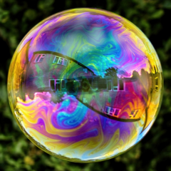 Commended - Reflections-In-A-Big-Bubble-by-Angela-Crutchley-Rhodes